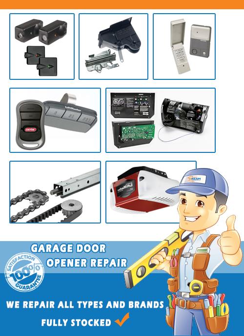 garage door opener repair in illinois